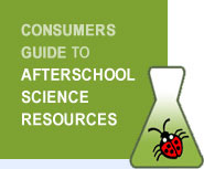 The Private Eye is named a premier afterschool curriculum by the Consumers Guide to Afterschool Science Resources