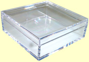 Clear Acrylic Specimen Box